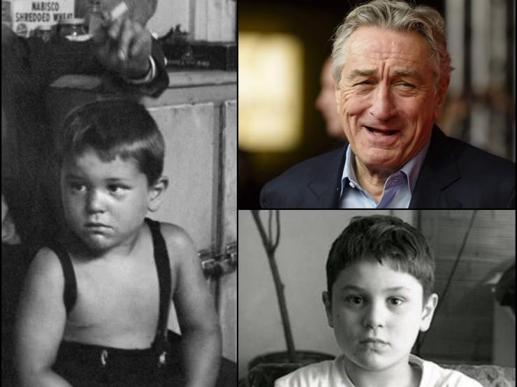 რობერტ დე ნირო 76 წლის გახდა – ლეგენდარული მსახიობის ბავშვობის იშვიათი ფოტოები