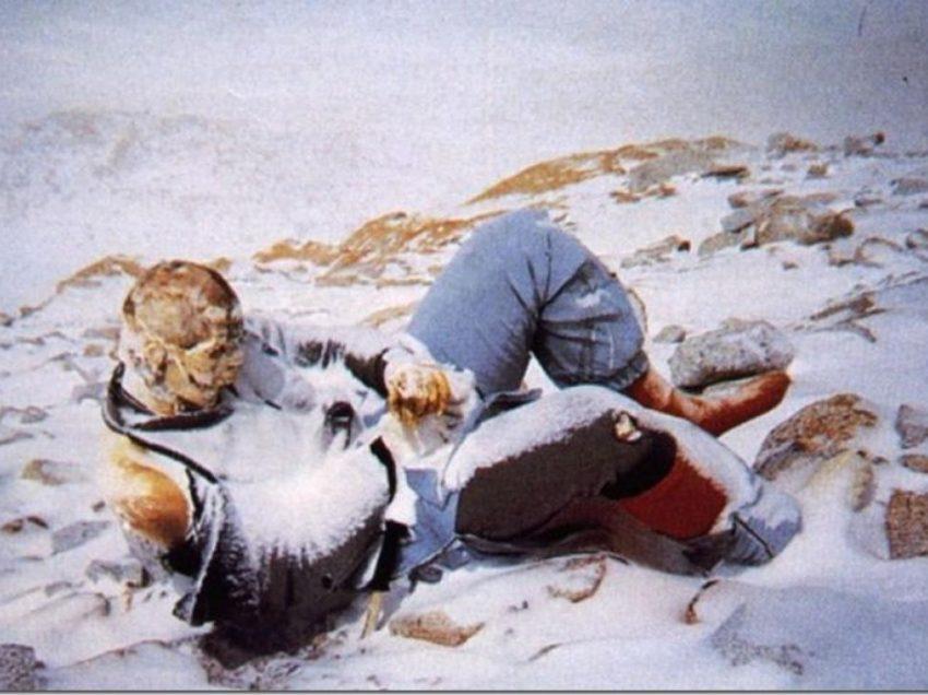 სიკვდილის მთა – ევერესტზე გარდაცვლილთა შოკისმომგვრელი ფოტოები