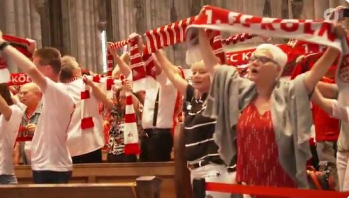 გერმანული საფეხბურთო კლუბის 4500-მდე ფანატმა ეკლესიაში ილოცა