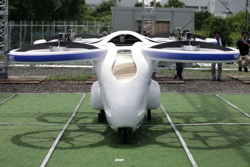 იაპონელებმა ახალი მფრინავი მანქანა გამოსცადეს