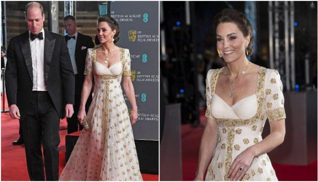 ქეით მიდლტონის მორიგი გაბრწყინება – ჰერცოგინიამ BAFTA 2020-ის წითელი ხალიჩა დაიპყრო (ფოტო)