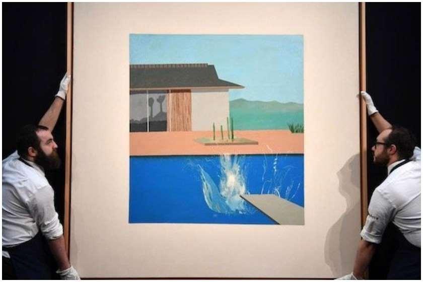 დევიდ ჰოკნის ნახატი £23,1 მილიონად გაიყიდა