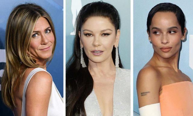 """როგორ გამოიყურებოდნენ """"ვარსკვლავები"""" კინომსახიობთა გილდიის 2020 წლის დაჯილდოვების ცერემონიაზე (ფოტოკოლაჟი)"""