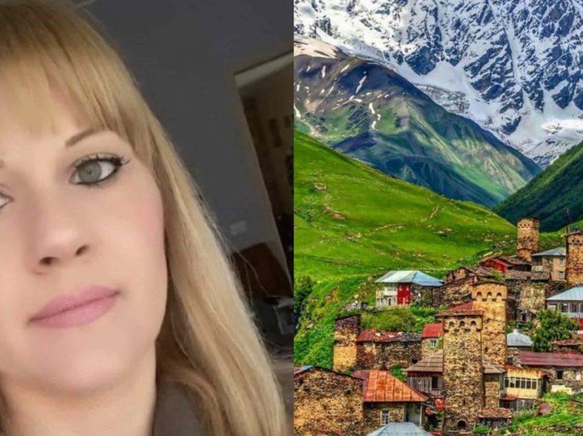 იტალიელი ქალი სვანეთში ნათესავებს ეძებს