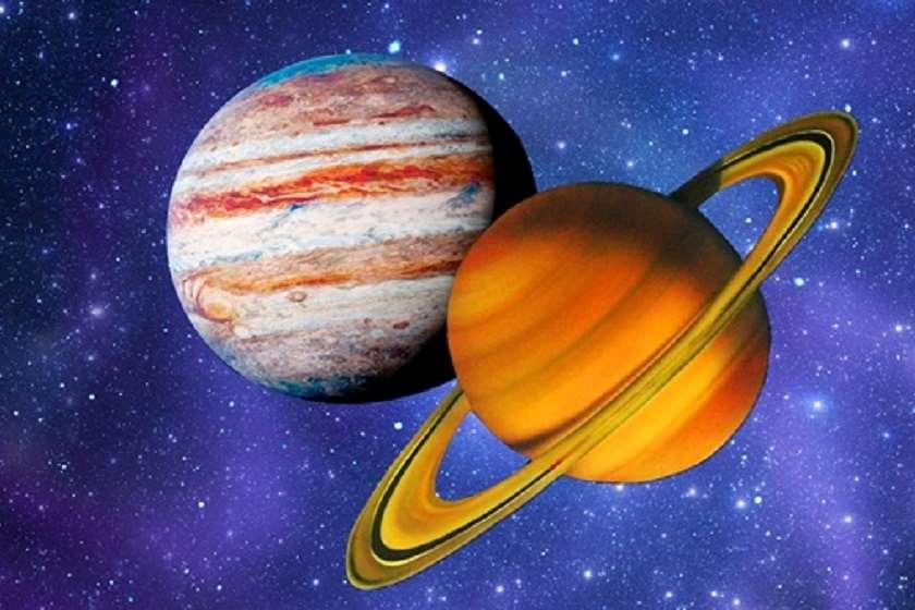 """სატურნისა და იუპიტერის """"დიდი შეერთება"""". ვიდეო"""
