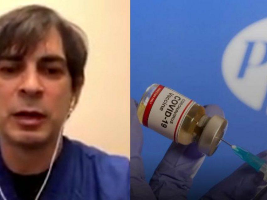 უბრალოდ ნანემსარი ერთი დღე მტკიოდა – ოკლაჰომაში მცხოვრები ქართველი ექიმი  Pfizer-ის ვაქცინით აიცრა