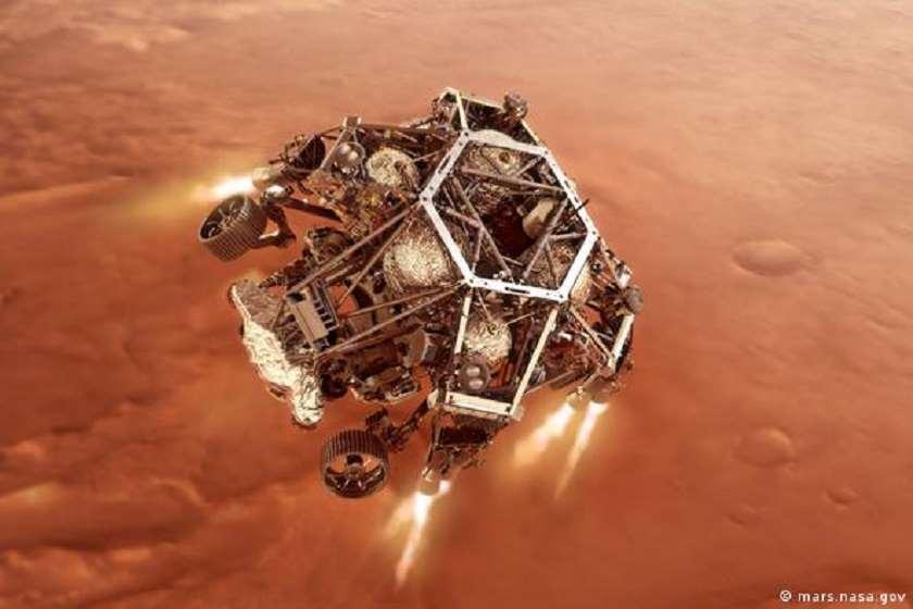 NASA-ს ახალი მარსმავალი Perseverance-ი მარსზე დაეშვა