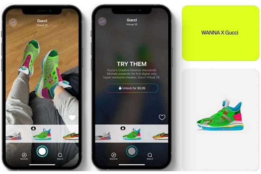 Gucci-მ გამოუშვა ვირტუალური ფეხსაცმელი, რომელიც მხოლოდ 12 დოლარი ღირს 👟