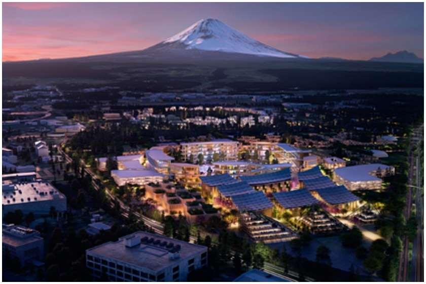 Toyota იაპონიაში მომავლის ქალაქს აშენებს