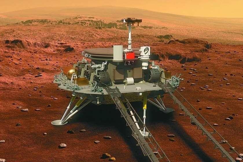 ჩინეთმა მარსზე კოსმოსური აპარატი პირველად დასვა