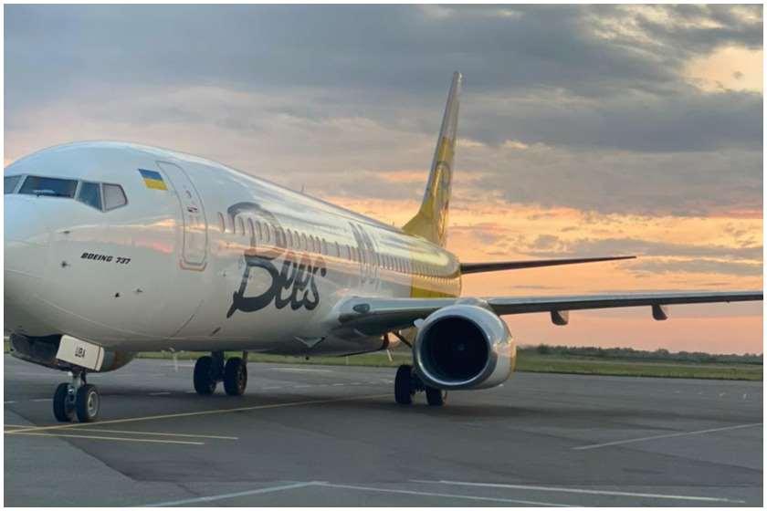 Bee Airlines კიევი-ბათუმის მიმართულებით პირველი პირდაპირი ფრენა შეასრულა