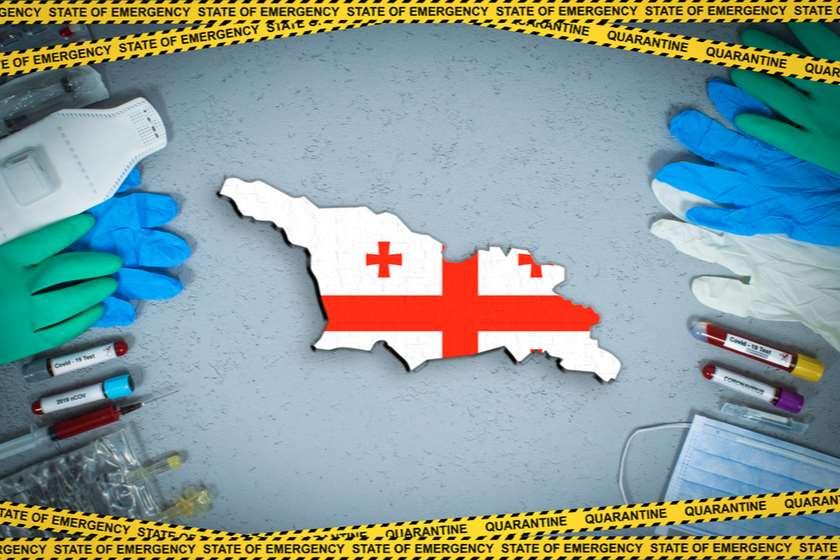 საქართველოში კორონავირუსის 821 ახალი შემთხვევა გამოვლინდა