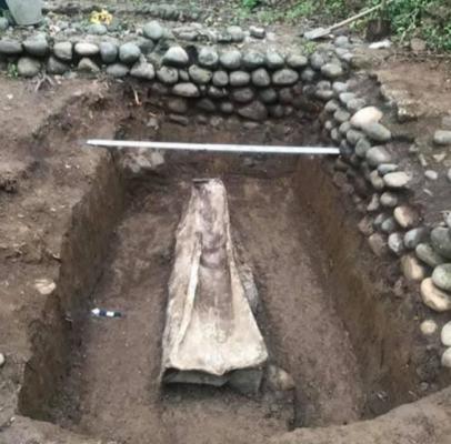 ოჩამჩირეში V-VI საუკუნის სარკოფაგი აღმოაჩინეს