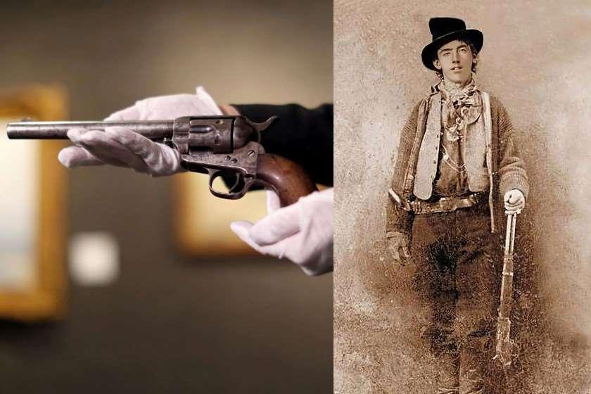 რევოლვერი, რომლითაც ცნობილი ამერიკელი ყაჩაღი ბილი კიდი მოკლეს, აუქციონზე $6 მილიონად გაიყიდა