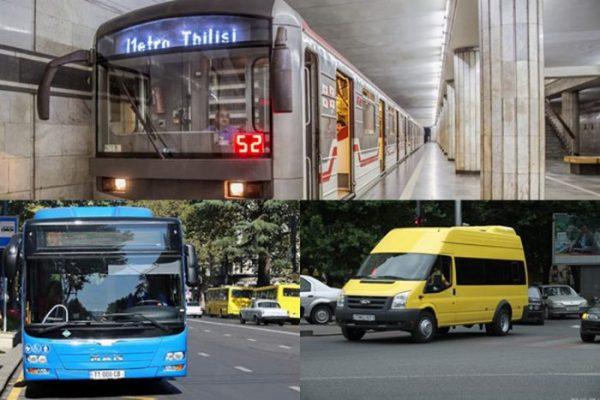 მუნიციპალური ტრანსპორტის მოძრაობა კვლავ შეზღუდული იქნება