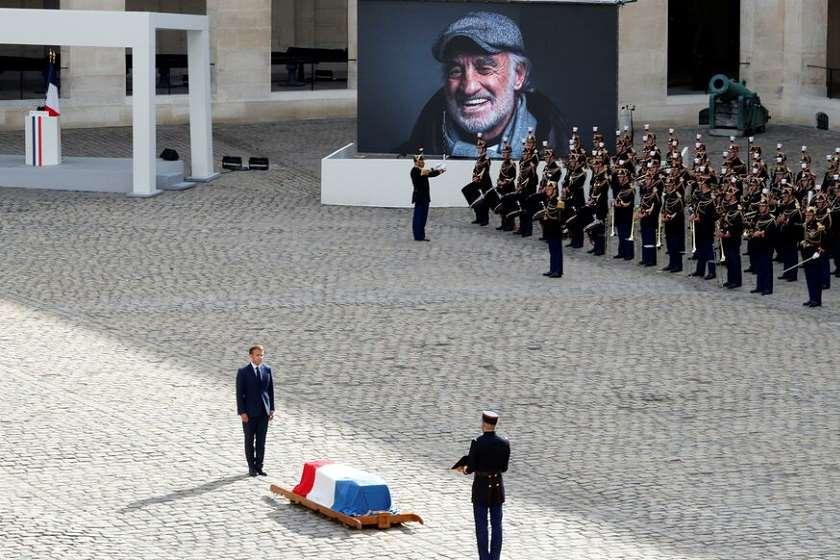 ემანუელ მაკრონი: ჟან-პოლ ბელმონდო ყოველთვის იქნება დიდებული