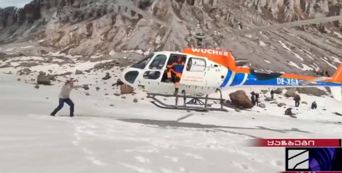 ყინულის ზვავში მოყოლილი 5 ტურისტი ამოიყვანეს – ყაზბეგში სამაშველო ოპერაცია წარმატებით დასრულდა